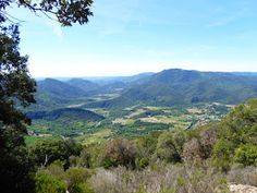 Another day, another walk: Circuit of St Martin from the gorge d'heric.