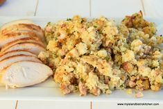 Sweet and Savory Sausage Bread Stuffing Sausage Bread, Sausage Stuffing, Bistro Food, Bistro Kitchen, Summer Savory, Stuffing Ingredients, Turkey Chicken, Turkey Dishes, Stuffing Recipes