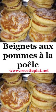 Here are some really simple apple donuts but just too good Small Batch Waffle Recipe, Waffle Recipe Without Milk, Best Waffle Recipe, Apple Dessert Recipes, Apple Recipes, Sweet Recipes, Beignets, Breakfast Waffle Recipes, Crockpot Recipes Cheap