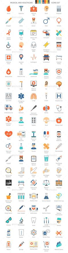 Medical And Healthcare Colorful Icons #design Download: http://graphicriver.net/item/medical-and-healthcare-colorful-icons/14066526?ref=ksioks: