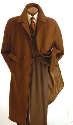 Cooper and Nelson Men's Full Length Fashion Top Coat - Wool Blend - Clothing Connection Online