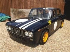 1964 Lancia Fulvia 2C Berlina Race Car
