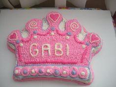 Princess crown cake for my daughter.
