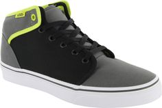 8e2842f2ef2 Vans 106 Mid Shoes - Charcoal Black Lime Punch