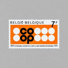 75th Anniversary of the Alliance Cooperative Internationale. Belgium, 1970. Design: J Malvaux #mnh #mintneverhinged #mnh_bel #postagestamps