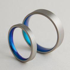 Titanium Rings  Wedding Bands  Promise Rings  Titanium