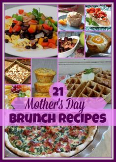 Mother's Day Brunch Recipe Ideas
