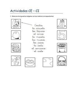 actividades-ce-ci by quieroqueaprendas via Slideshare