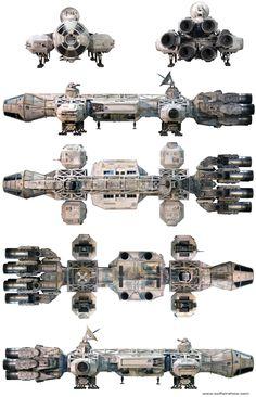 sci-fi-air-show | Millennium Eagle