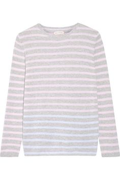 Gray, pastel-pink and light-blue cashmere Slips on 100% cashmere Dry clean