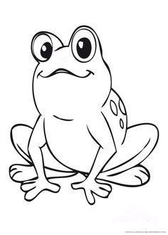 frosch ausmalbild froschparty pinterest