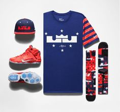 This LBJ 4th of July pack releases Saturday, featuring the Nike LeBron 12s.