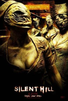 High resolution official theatrical movie poster ( of for Silent Hill Image dimensions: 2071 x Directed by Christophe Gans. Silent Hill Krankenschwester, Silent Hill Movies, Halloween Movies, Scary Movies, Good Movies, Halloween Costumes, Awesome Movies, Movies Free, Watch Movies