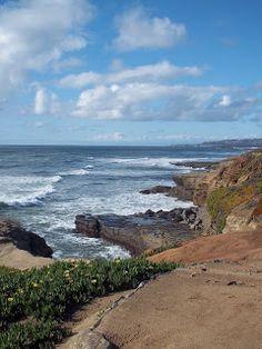 Sunset Cliffs, Ocean Beach, San Diego, California