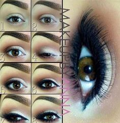 Steps to make your eyes look like this!