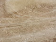 Ivory Lace Fabric  Gorgeous Ivory Chantilly by ChantillyDentelle