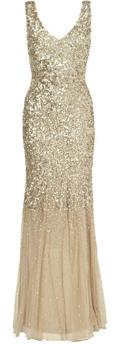 Gold gown / phase eight