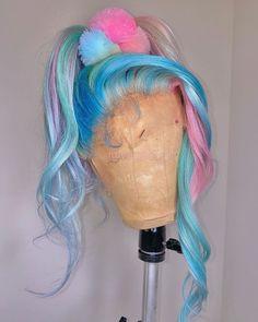 Baddie Hairstyles, Pretty Hairstyles, Braided Hairstyles, Wig Styles, Curly Hair Styles, Braid Styles, Exotic Hair Color, Hair Laid, Lace Hair