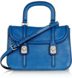 Miu Miu Madras textured-leather shoulder bag on shopstyle.com