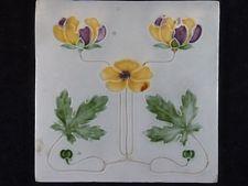 Jugendstil - Fliese / Kachel, Art Nouveau, Tile