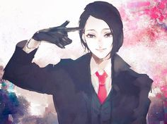 this fruit fucked the whole fandom up... AGAIN, why do you even exist in this franchise. you are too sexy and devilishly fucked up hot to be in here...you literly make me question my morals...  hurry up and die or go to a nice reverse herem anime or something... | Furuta Nimura, Tokyo   Ghoul:Re