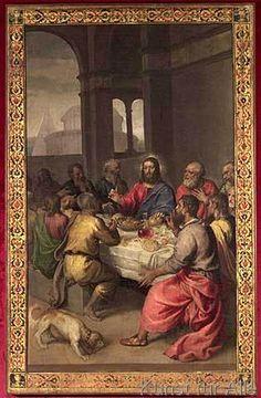 Tizian - The Last Supper