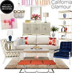 """""""California Glamour With Belle Maison"""" by clara-bow80 on Polyvore"""