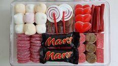 LOS DETALLES DE BEA: Nuevas cajas de chuches rojas y chocolate