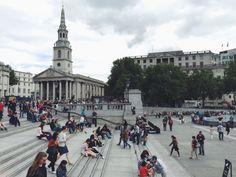 Trafalger Square, London