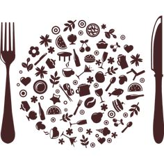 1000 images about vinilos on pinterest plato vinyls - Dibujos de cocinas ...