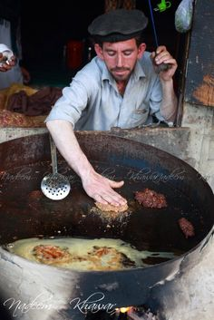 Street Food in Pakistan: Kabab at Chitral   - Explore the World with Travel Nerd Nici, one Country at a Time. http://TravelNerdNici.com
