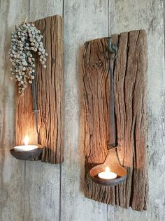 wall shelf with hanging spoon for cowhide decorations .- wandplank met hanglepel bij koeienhuiddecoraties ideas i… wall shelf with hanging spoon for cowhide decorations ideas ideas event ideas party ideas wall - Home Design Diy, Rustic Home Design, House Design, Design Ideas, Wall Design, Patio Design, Handmade Home Decor, Diy Home Decor, Handmade Clocks