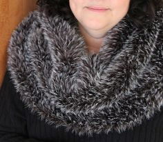 Free knitting for Highlander Cowl fur cowl