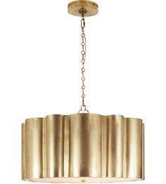 Visual Comfort AH5215NB Alexa Hampton Markos 4 Light 26 inch Natural Brass Pendant Ceiling Light photo