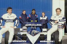 RiccardoPatrese, Elio de Angelis, 1986 Brabham BMW