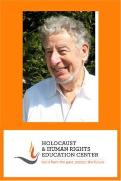 Holocaust and Human Rights Education Center – Learn from the past, protect the future Holocaust Survivors, Education Center, Hiding Places, Human Rights, Holland, Acting, The Past, Foundation, Interview