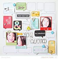 CHA-W 2013 // Snippets projects - Studio Calico  Get Studio Calico at www.craftysteals.com