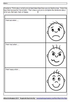 Charlotte's Clips and Kindergarten Kids: How Are You Feeling?