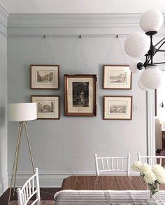 Ideas For Bathroom Paint Colors Valspar Crown Moldings Valspar Paint Colors, Bathroom Paint Colors, Paint Colours, Wall Colors, Picture Rail Hanging, Hanging Pictures, Picture Rail Molding, Photo Hanging, Silver Sage Paint