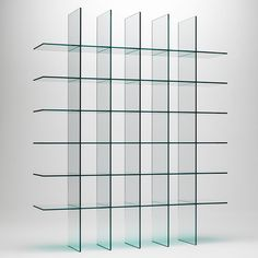 Explore modern classics at Switch Modern like the Glass Shelves 1 Bookshelf from Glas Italia. We're pleased to offer no sales tax* and our price match guarantee.