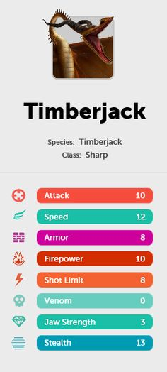 Timberjack dragon from HTTYD 2