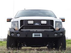 Road Armor® :: 2009-2014 Ford F-150 Front Stealth Winch Bumper with Pre-Runner Guard