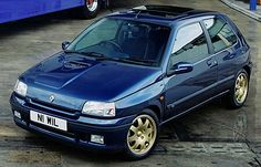 Renault Clio Williams Auto Retro, Retro Cars, Vintage Cars, Clio Williams, Volkswagen, Renault Sport, Automobile, Dream Car Garage, Top Cars