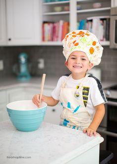 We Made It Kids Apron on iheartnaptime.com