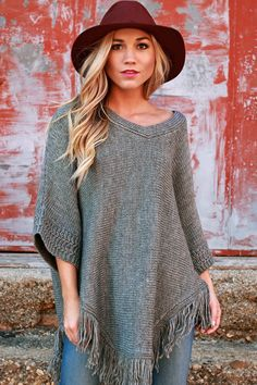 Enjoy cool mornings in this cozy sweater!