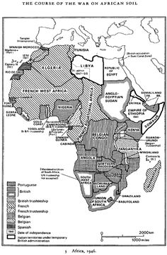 The Course of the War on African Soil, 1946