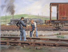 Turn your photos into beautiful handmade paintings made by professional portrait painters. Barrow Hill, Train Posters, Nostalgic Art, National Railway Museum, Steam Railway, Train Art, Train Pictures, Watercolor Paintings, Oil Paintings