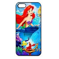 Beautiful Ariel The Little Mermaid Iphone 5 case cover
