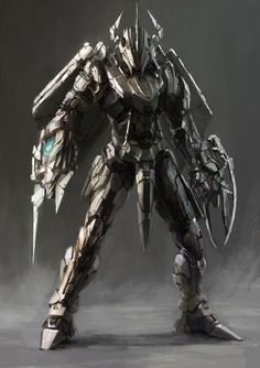 cyberclays illustrations by jinglin Xu WarGreymon - Digimon fan art Fantasy Character Design, Character Concept, Character Inspiration, Character Art, Cyberpunk, Futuristic Armour, Futuristic Art, Robot Concept Art, Armor Concept