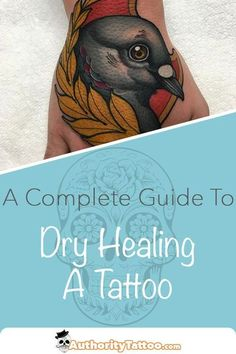If you spend enough time talking to people about their tattoos, you'll come across a bit of controversy over the best way to heal them. Some people swear by dry healing, while others claim that it doesn't do enough to protect and heal your skin while it recovers after getting tattooed. So, which side of the debate is right? Is dry healing the best technique for helping your tattooed skin heal? Click the pin to see what we think. Make Tattoo, I Tattoo, Tattoo Aftercare, Some People, Tips, Ideas, Thoughts, Hacks